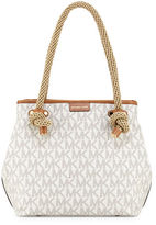 MICHAEL Michael Kors Maritime Medium Logo Beach Tote Bag
