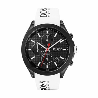 HUGO BOSS Men's Analogue Quartz Watch with Silicone Strap 1513718