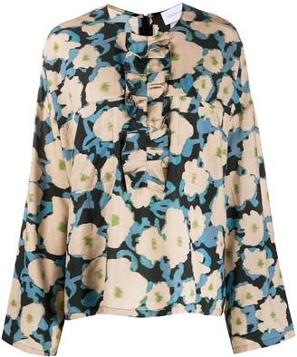 Christian Wijnants Tayla floral print blouse