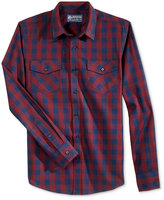 American Rag Men's Checked Long-Sleeve Shirt, Only at Macy's