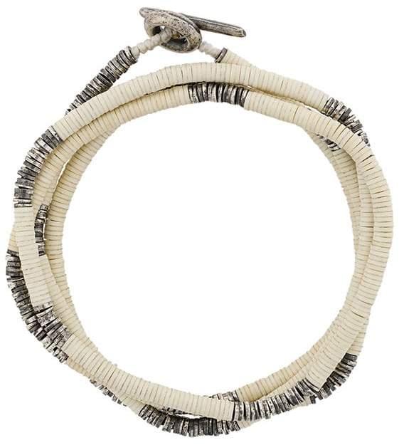 M. Cohen multi strand beaded bracelet