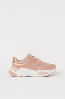 H&M Shimmering trainers