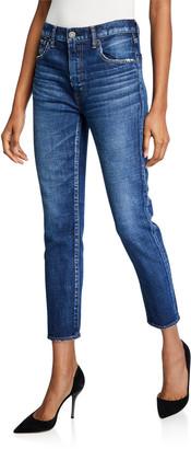 Moussy Cameron Dark-Wash Skinny Jeans