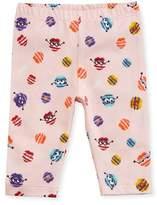 Fendi Girls' Monster Pompom Graphic Leggings, Size 3-9 Months
