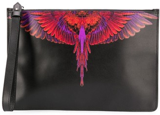 Marcelo Burlon County of Milan Wings rectangular-shaped clutch
