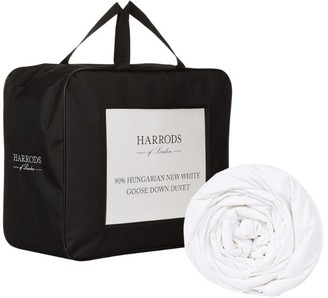 Harrods Super King 90% Hungarian New White Goose Down Duvet (4.5 Tog)