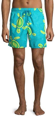 836380ea43 Moorea Printed Swim Trunks - ShopStyle