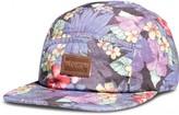 Floral five panel hat