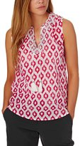 Joules Otille Embroidered Sleeveless Top