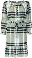 Burberry checked dress