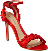 Monique Lhuillier Esme Satin Sandal