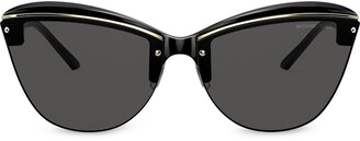 Michael Kors Cat-Eye Logo Sunglasses