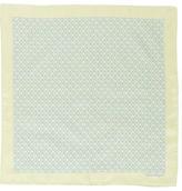 Salvatore Ferragamo Apple Print Silk Pocket Square