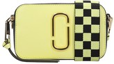Marc Jacobs Snapshot Shoulder Bag In Yellow Leather