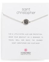 Dogeared Women's Saint Christopher Bracelet