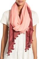La Fiorentina Tassel Cotton & Silk Scarf