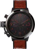 U-Boat 7094 Flightdeck Black Ceramic Watch