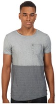 Scotch & Soda Oil-Washed Crew Neck Tee in Jersey Quality with Chest Pocket