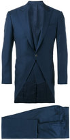 Canali three piece dinner suit - men - Cupro/Wool - 50
