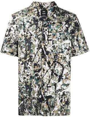 Vans Paint Splatter Print Shirt