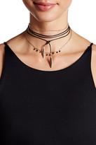 Stephan & Co Layered Chain & Wrap Choker