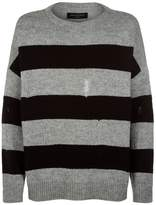 Allsaints Demo Distressed Sweater