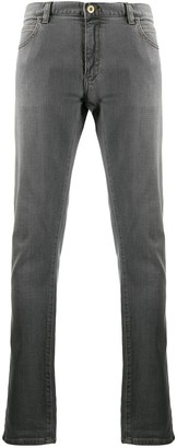 Emporio Armani Contrast Stitching Jeans