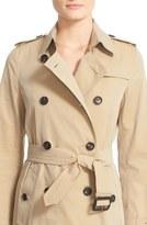 Burberry 'Kensington' Long Trench Coat