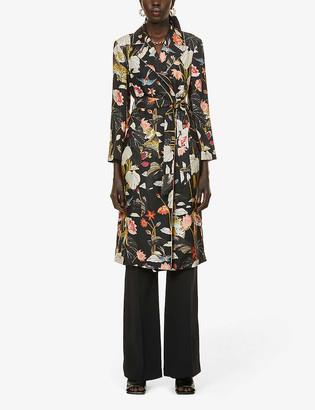 Etro Zant floral-print silk coat