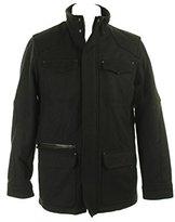Calvin Klein Men's Basic Wool 4-Pocket Jacket