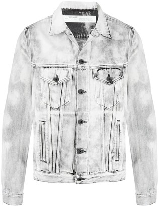 Off-White Arrows print denim jacket