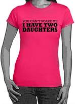StarliteFunnyShirts I Have Two daughters tshirt -Womens Funny Sayings T Shirts