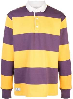 ROWING BLAZERS striped polo shirt
