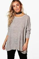 boohoo Womens Brooke Crew Neck Jumper