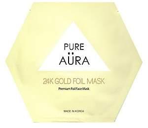 Pure Aura Women's 24K Gold Foil Sheet Mask