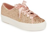 Kate Spade Keds X Keds(R) x Triple Kick Glitter Sneaker