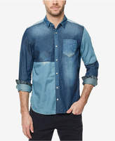 Buffalo David Bitton Men's Colorblocked Denim Shirt