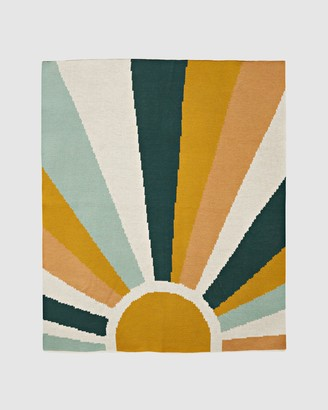 Goldie & Ace Sunrise Knit Baby Blanket - Babies