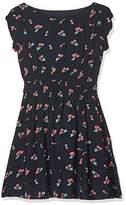 Yumi Girl's Cherry (Navy) Dress