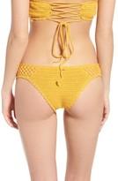 Rip Curl Women's Topanga Luxe Crochet Hipster Bikini Bottoms