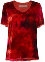 Raquel Allegra oversized tie-dye top