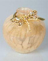 Jay Strongwater Alice Dragonfly Vase