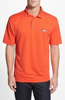 Cutter & Buck Men's 'Denver Broncos - Genre' Drytec Moisture Wicking Polo