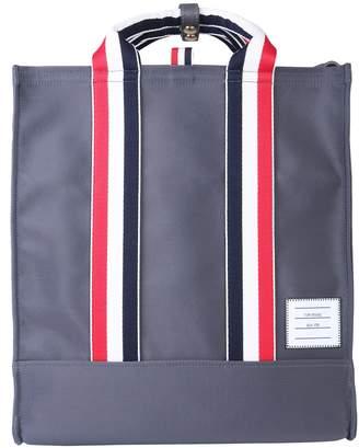 Thom Browne Technical Fabric Tote Bag