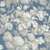 York Wall Coverings York Wallcoverings 56 sq. ft. Antique Floral Wallpaper