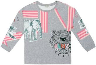 Kenzo Kids Printed jersey T-shirt