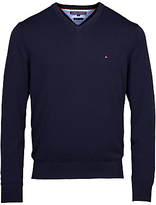 Tommy Hilfiger Pacific V-neck Jumper, Navy