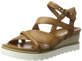 Mjus Women's 221022-0401 Open Toe Sandals brown Size: 6.5