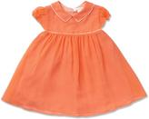 Marie Chantal Mini Citrus Piped Silk Dress
