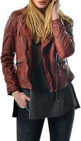 Gypsetters Leather Biker Jacket